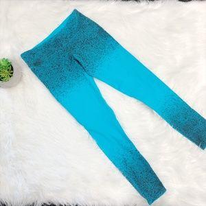Splits59 Blue Paint Splatter Workout Leggings